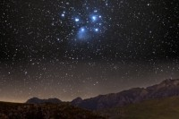 Matariki [Pleiades star cluster] is an abbreviation of 'Ngā Mata o te Ariki' – The Eyes of the God. Māori used the stars to navigate their way around the pacific to Aotearoa as well as plan for the year. Nowadays, it's used metaphorically to symbolise a new start.